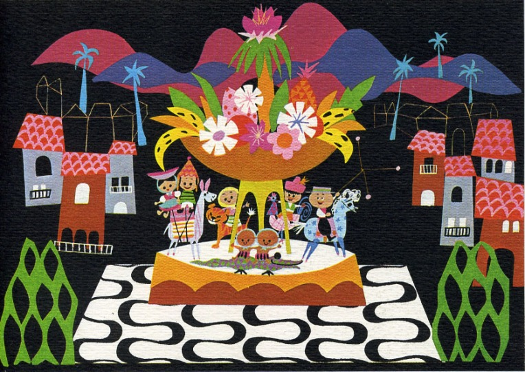 It's A Small World cards designed and sold for Unicef