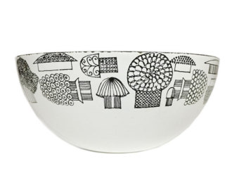 Kaj Franck bowl, Chaps and Rascal at Etsy