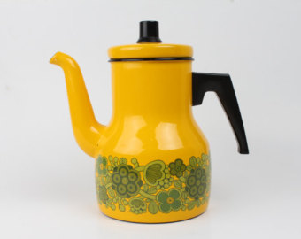 Kay Franck coffee pot, Danish Home at Etsy
