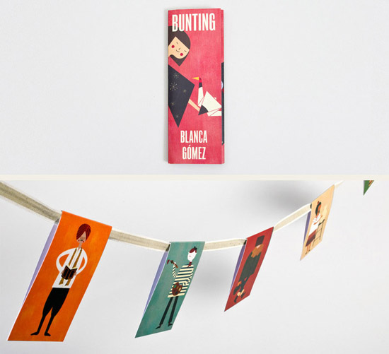 illustrated bunting for YCN shop